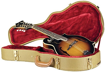 Guardian CG-035-MA Vintage Archtop Tweed Mandolin Case Fit-All F-Style or  A-Style
