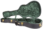 Recording King CG-044K-00 Deluxe Vintage Double Ought 00-Style Guitar Hard Case Archtop Hardshell