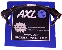 "AXL 6"" Guitar Effects Patch Cable - Lifetime Warranty"