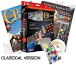 CLASSICAL Guitar Chord Buddy Guitar Teaching Learning System Practice Aid w/ DVD & Book - ChordBuddy for Nylon Wide Neck Guitars