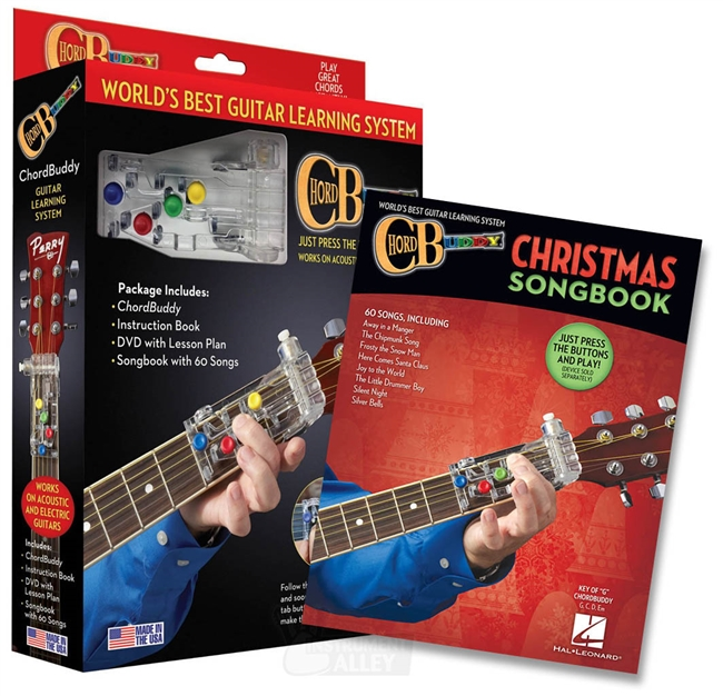 Chord Buddy Guitar Teaching Learning System Practice Aid w/ DVD ...