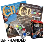LEFT HANDED Chord Buddy Guitar Teaching Learning System Practice Aid w/ DVD & Book - PLAY INSTANTLY LEFTY ChordBuddy