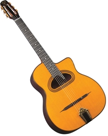 Gitane D-500 Maccaferri Style D-Hole Gypsy Jazz Guitar