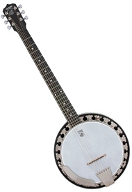 Deering Boston B-6 6 String Professional Banjo Banjitar Guitar. Free Case, Setup and Shipping!