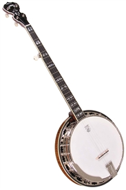 Deering Calico 5 String Resonator Banjo. Free Case, Setup and Shipping!