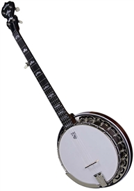 Deering Eagle II 5 String Professional Resonator Banjo