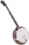 Deering Golden Era 5 String Resonator Banjo. Free Case, Setup and Shipping!