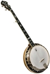 Deering Golden Wreath Banjo 5 String Professional Resonator Banjo. Free Case, Setup and Shipping!