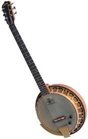 Deering Phoenix 6-String Electric Banjo Guitar-Banjo - Free Case, Setup and Express Shipping!