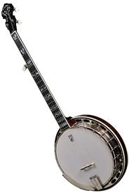 Deering Tenbrooks Saratoga Star Pro 5 String Resonator Banjo with 06 Tone Ring