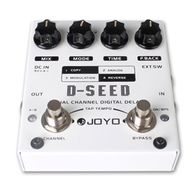JOYO D-SEED Dual Mode Digital Delay Guitar Effects Pedal FX Stompbox True Bypass