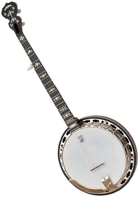 USED Deering Sierra 5 String Professional Resonator Banjo - Mahogany w/ Case