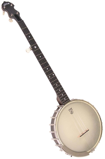 Vega Senator 5 String Open Back Banjo by Deering