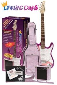 c0c28afb3ed Darling Divas DD950 Girls Electric Guitar Amp Bag Package ...