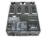 Chauvet DMX4LED 4-Channel Dimmer Relay Pack for LED Fixtures