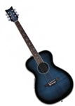 Daisy Rock Pixie Acoustic/Electric Guitar Blueberry Burst 14-6221