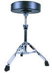 GP Percussion DT82 Double Braced Drummers Throne with Height Adjustment