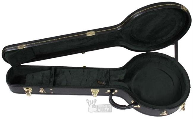 Deering Vega Deluxe Traditional Hardshell Banjo Hard Case - Resonator or  Openback