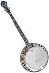 Dean BW5 Backwoods 5 Resonator Bluegrass Banjo - 5-String w Hard Case