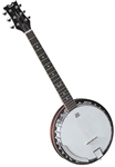 Dean BW6 Backwoods 6 String Banjo Guitar. FREE Shipping