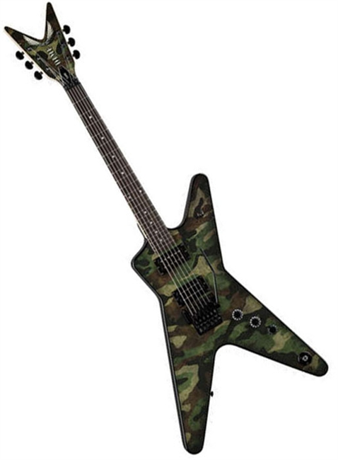 Dimebag Dime Camo ML Electric Guitar W Floyd Rose Special Bridge