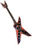 Dean Dimebag Dixie Rebel Electric Guitar w/ Case - FREE SHIPPING, case, pedal!
