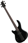 Dean Edge 09 Bass Guitar in Classic Black Lefty