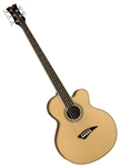 Dean EABC5 Cutaway 5-String Acoustic Electric Bass Guitar in Satin Finish