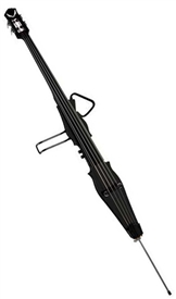 Dean Pace Contra Bass Upright Electric with Case in Classic Black PACE CONTRA CBK
