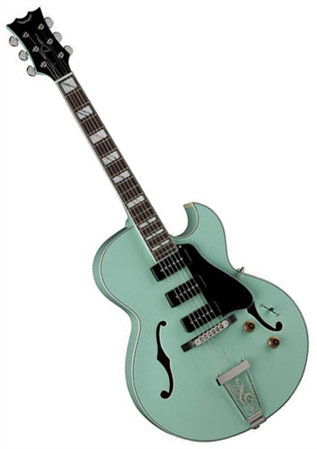 Dean Palomino Electric Guitar In Sea Green