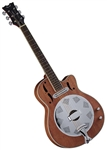 Dean Cutaway Acoustic/Electric Dobro Resonator Guitar Mahogany w/ Bag RCE NM