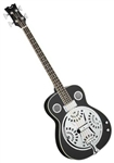Dean RES BASS CBK Acoustic Electric Resonator Bass Guitar Classic Black