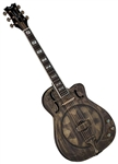 Dean Thin Body Cutaway Acoustic/Electric Resonator Guitar - Heirloom Brass w/ Hard Case