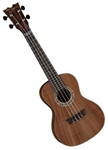 Dean Concert Size Ukulele Guitar in Exotic Koa Wood