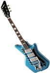 Airline '59 3P Custom Solid Body Retro Electric Guitar G. Love Black and Blue