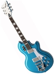 Airline '59 Coronado Deluxe Supro Reissue Electric Guitar Blue, White or Black