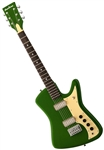 Airline Bighorn Solid Body Vintage Reissue Retro Electric Guitar - Red or Green