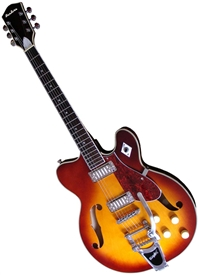 Airline H74 1960's Tribute Hollowbody Electric Guitar
