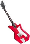Eastwood Airline Jetsons Jr. 6-String Solid Body Electric Guitar - Red