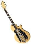 Airline '59 Town & Country DLX Valco Reissue Deluxe Electric Guitar - Vintage Cream
