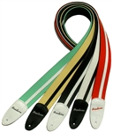 Eastwood Airline Guitar Strap - Red, White, Black, Cream, Green