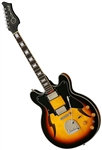 Eastwood Custom Kraft DLX Hollowbody Electric Jazz Guitar 1960's Supro/Valco Reissue - Sunburst