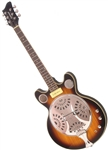 Eastwood Delta 6 Electric Dobro Resonator Guitar Sunburst, Black or Seafoam Green