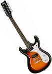 Eastwood Sidejack 12 Solid-Body 12-String Electric Guitar - Sunburst