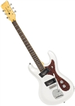 Eastwood Sidejack PRO DLX 6-String Mosrite-Style Solid Body Electric Guitar
