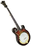 Goldtone EBM 5 String Electric Banjo. Free TKL Case, setup and shipping.