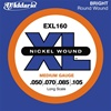 D'Addario EXL160 Regular Guage Light 4-String Long Scale Bass Guitar Strings
