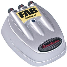 Danelectro D-2 Fab Series Overdrive Effects Pedal