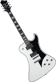 Hagstrom Fantomen FANT-WHT Solid Body Electric Guitar - White