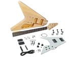 Saga FV-10 Do It Yourself Flying V Style Build Your Own Guitar Kit - Builders Package